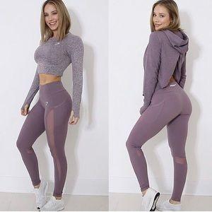 Gymshark Purple Sleek Aspire Leggings